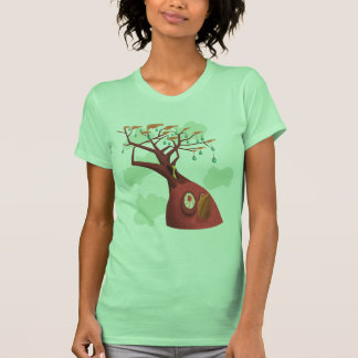 El tanque del árbol frutal camiseta