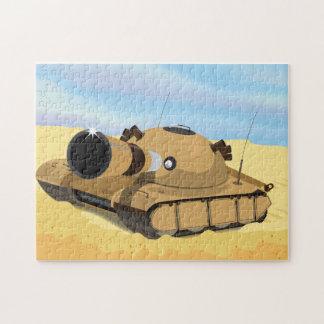 El tanque del desierto puzzles