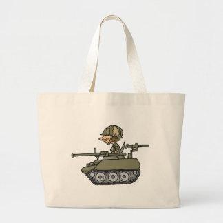 El tanque del dibujo animado bolsas
