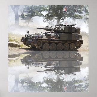 El tanque del escorpión impresiones