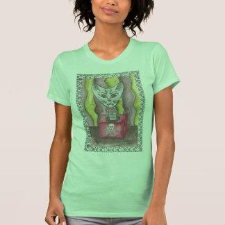 El tanque del Gato-En--Box Camisetas