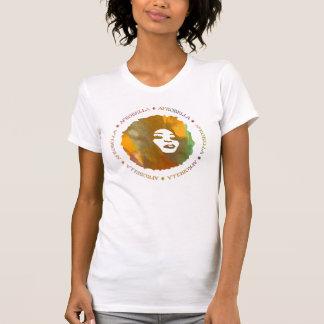 El tanque del logotipo de Afrobella Poleras