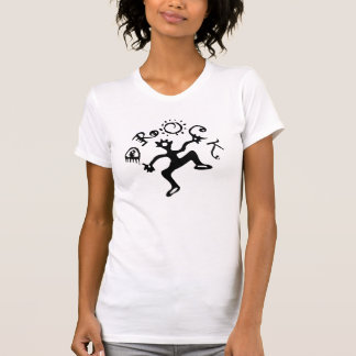 El tanque del logotipo de las señoras Drock Camisetas