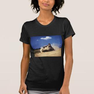 El tanque del M3 Lee en ejercicios de formación en Camiseta