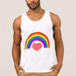 El tanque del orgullo gay del amor del arco iris