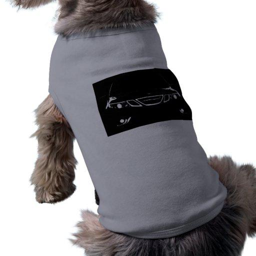 El tanque del perrito de Saab Camiseta De Perro