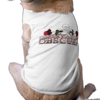 El tanque del perrito del logotipo de Observatoire Playera Sin Mangas Para Perro