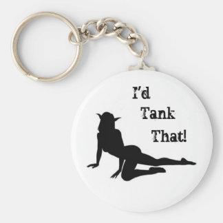 ¡El tanque eso! Llavero Redondo Tipo Pin