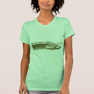 El tanque, éste es cómo ruedo tshirts