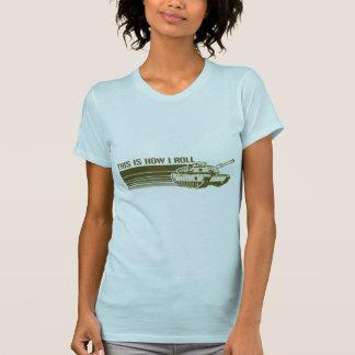El tanque, éste es cómo ruedo t-shirt
