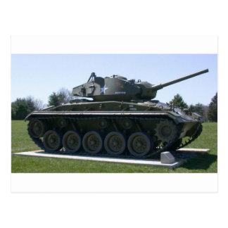 El tanque ligero de M24 Chaffee Tarjetas Postales