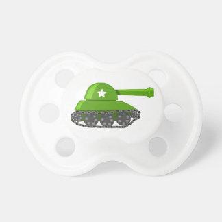 El tanque lindo del dibujo animado chupetes para bebés