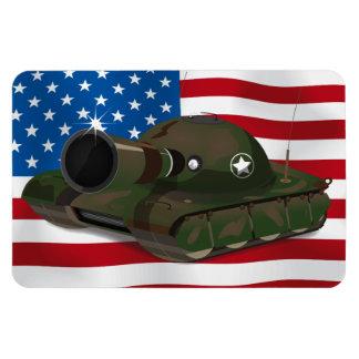 El tanque militar imanes