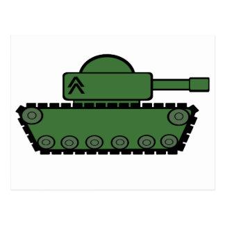 El tanque militar postal