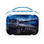 El tanque militar viejo