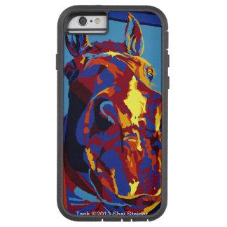 El tanque - nariz del caballo él todo funda de iPhone 6 tough xtreme