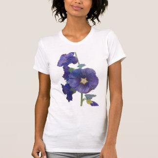 El tanque púrpura de los Hollyhocks Camiseta