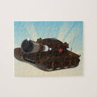 El tanque rompecabezas