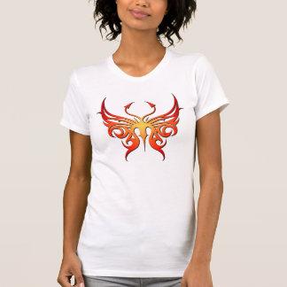 ¡El tanque rojo y amarillo de la mariposa! Camiseta