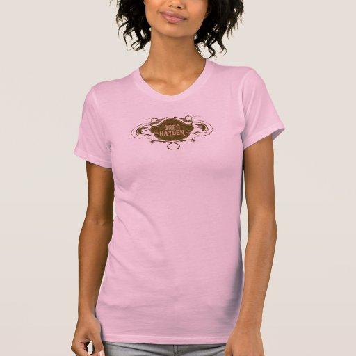 El tanque rosado de Greg Hayden Camisas