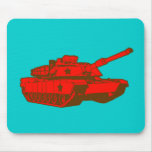 El tanque tapetes de raton