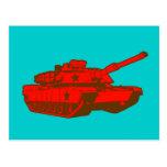El tanque tarjeta postal