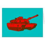 El tanque tarjetón
