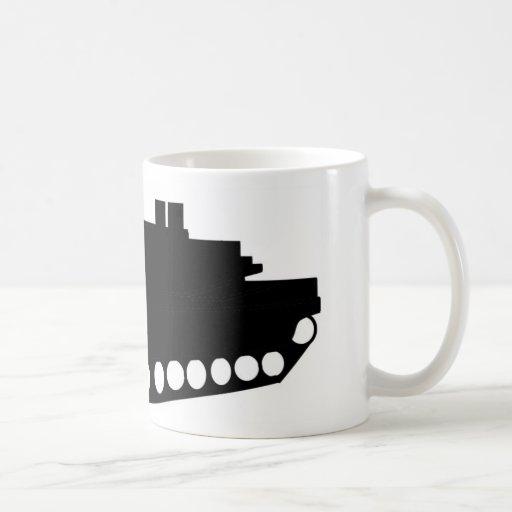 El tanque tazas de café