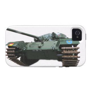 El tanque WW2 Vibe iPhone 4 Carcasas