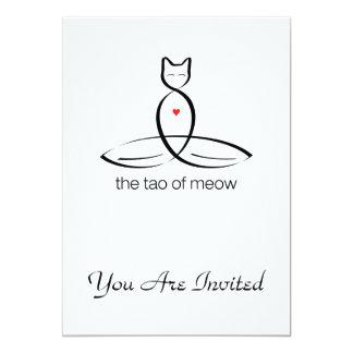 El Tao del maullido - texto regular del estilo Invitaciones Personales