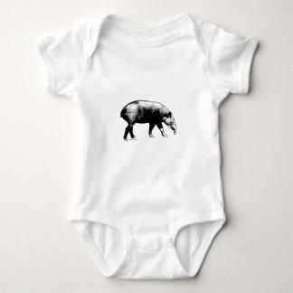 El Tapir de Baird Body Para Bebé