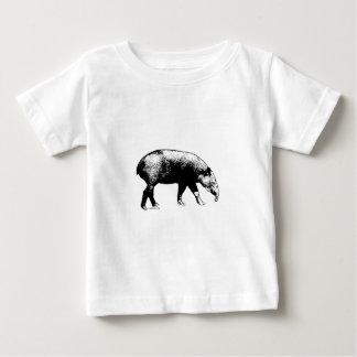 El Tapir de Baird Playera De Bebé