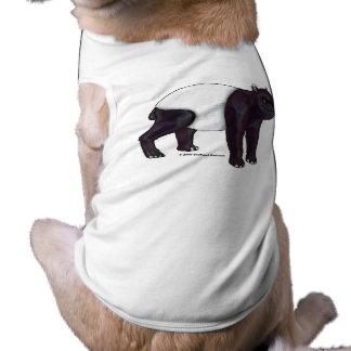 El Tapir quiere el camisetas del mascota de Hugges Playera Sin Mangas Para Perro