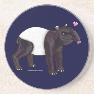 El Tapir quiere el práctico de costa de Hugges Posavasos Manualidades