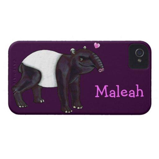 El Tapir quiere la caja de la casamata del iPhone  iPhone 4 Case-Mate Protector
