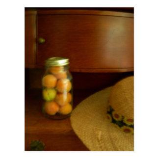El tarro de fruta postal