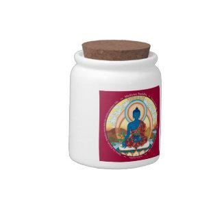 El TARRO/el POTE - medicina Buda - perfecciona Platos Para Caramelos