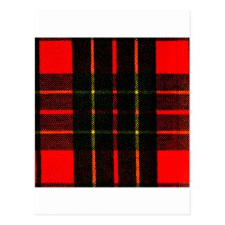 el tartán del jGibney colorea Brodie el GIF de Zaz Tarjeta Postal