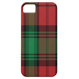 El tartán escocés Apple de Lindsay llama por teléf iPhone 5 Case-Mate Fundas