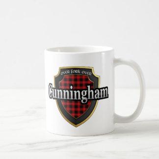 El tartán escocés de la dinastía de Cunningham del Tazas