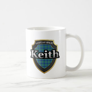 El tartán escocés de la dinastía de Keith del clan Taza Clásica