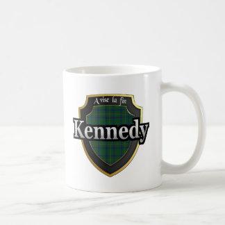 El tartán escocés de la dinastía de Kennedy del Taza