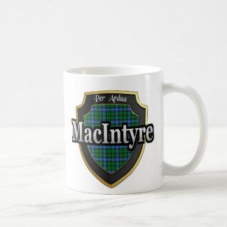 El tartán escocés de la dinastía de MacIntyre del Taza