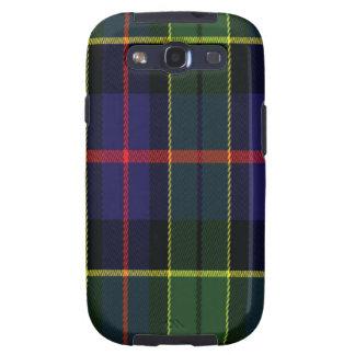 El tartán escocés Samsung de Forsyth llama por tel Galaxy SIII Coberturas