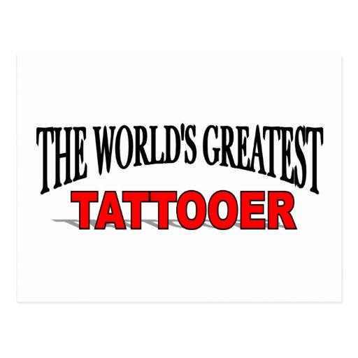 El Tattooer más grande del mundo Postales