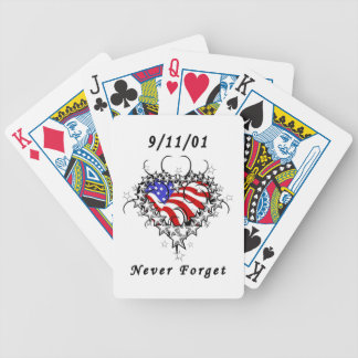 El tatuaje 911 nunca olvida cartas de juego