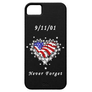 El tatuaje 911 nunca olvida iPhone 5 Case-Mate cárcasa