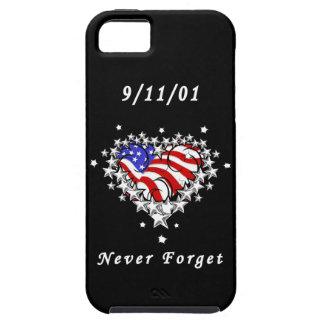 El tatuaje 911 nunca olvida iPhone 5 carcasa