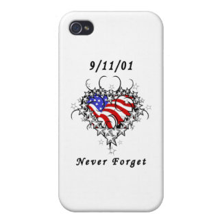 El tatuaje 911 nunca olvida iPhone 4 coberturas