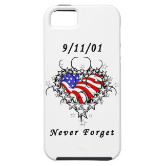 El tatuaje 911 nunca olvida iPhone 5 funda